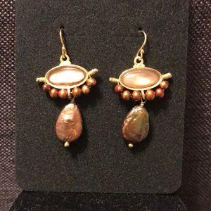 New dangle drop earrings